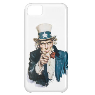 Uncle Sam I Want You Customize With Your Text Cover For iPhone 5C