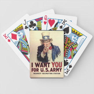 Uncle Sam - I Want You Poker Deck