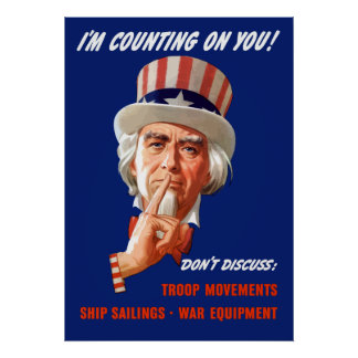 Uncle Sam -- I'm Counting On You! Poster
