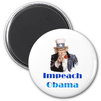 Uncle Sam Impeach Obama Magnet