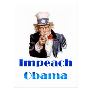 Uncle Sam Impeach Obama Post Cards