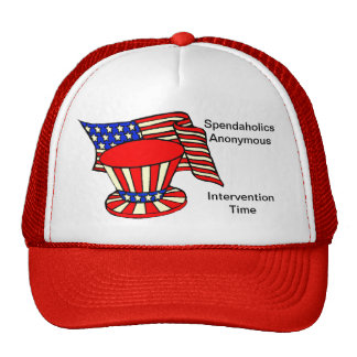 Uncle Sam is a shopaholic Intervention Time Mesh Hat