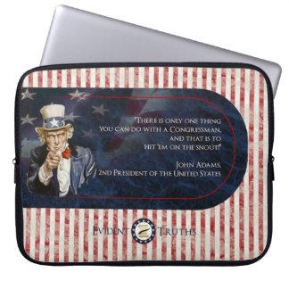 Uncle Sam - John Adams Laptop Sleeve