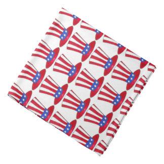 Uncle Sam July 4th USA Patriotic American Bandana