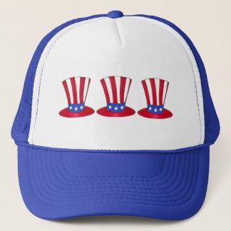 Uncle Sam July 4th USA Patriotic American Flag Hat