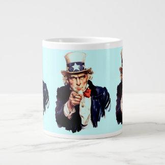 uncle sam jumbo mug