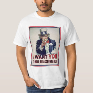 Uncle Sam Just Wants To Be Held T-Shirt