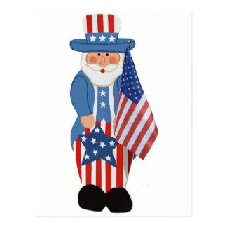 Uncle Sam Logo Postcard