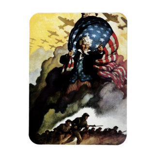 Uncle Sam - N. C. Wyeth Magnet