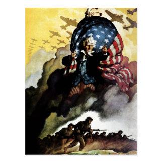 Uncle Sam - N. C. Wyeth Postcard
