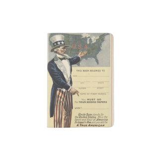 Uncle Sam Passport Holder
