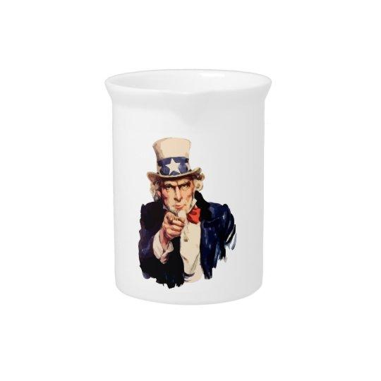 Uncle Sam Pitcher