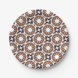 Uncle Sam Pointing Finger Kaleidoscope Paper Plate