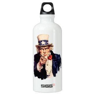 Uncle Sam Pointing His Finger SIGG Traveller 0.6L Water Bottle