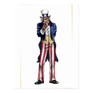 Uncle Sam Post Cards