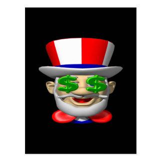 Uncle Sam Postcard