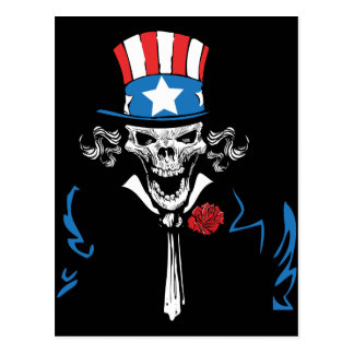 Uncle Sam Post Card