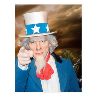 Uncle Sam Products Postcard