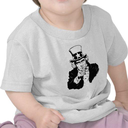 Uncle Sam Propaganda Portrait Shirt