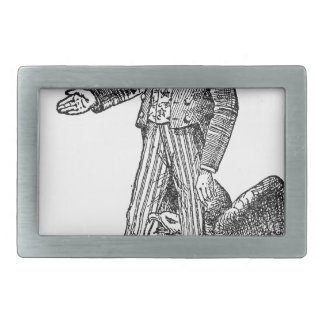 Uncle Sam Rectangular Belt Buckle