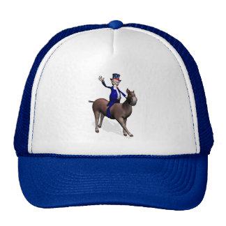 Uncle Sam Riding On Donkey Cap