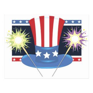 Uncle Sam s Fireworks Postcards