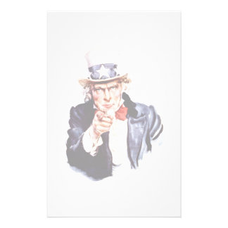 Uncle Sam Wants You Stationery