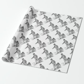Uncle Sam Wrapping Paper
