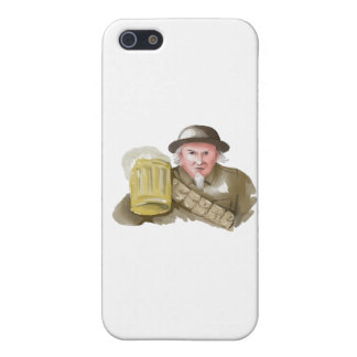 Uncle Sam WW1 Soldier Toasting Beer Watercolor Case For The iPhone 5