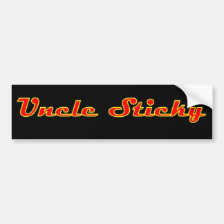 Uncle Sticky Bumper Sticker