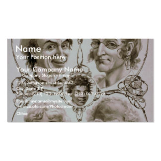 Uncle Tom s Cabin Business Card