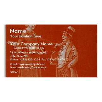 Uncle Tom s Cabin Marks SR and Marks JR Vintage Business Card Templates