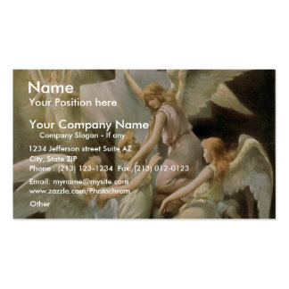 Uncle Tom s Cabin Rock of Ages Retro Theater Business Cards