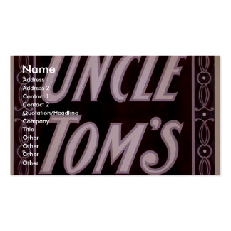 Uncle Tom's Cabin Business Cards