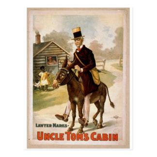 Uncle Tom's Cabin, 'Lawyer Marks' Retro Theater Post Cards