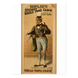 Uncle Tom's Cabin,  'Marks The Lawyer' Vintage The Postcards