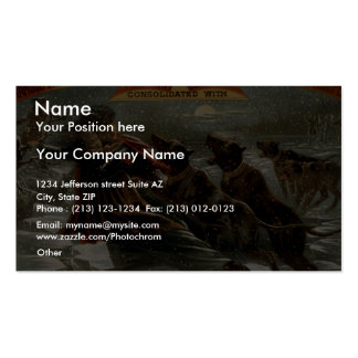 Uncle Tom's Cabin Retro Theater Business Card Template