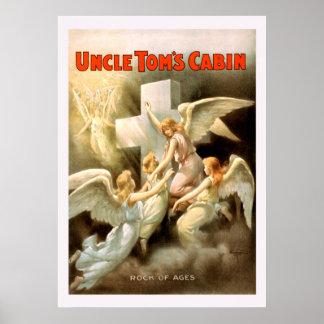 Uncle Toms Cabin Vintage Poster