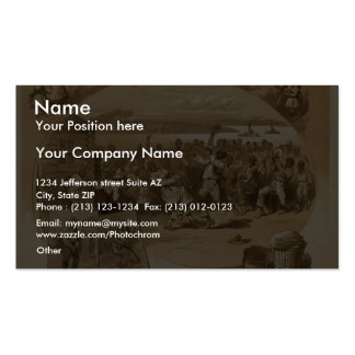 Uncle Tom's Cabin Vintage Theater Business Card Templates