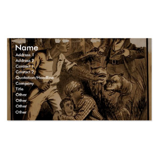 Uncle Tom's Cabin Vintage Theater Business Cards