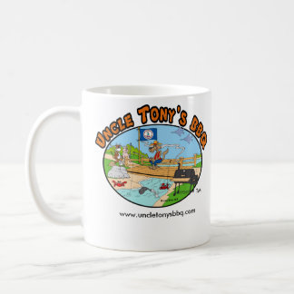 Uncle Tony's BBQ Coffee Mug (Cartoon)