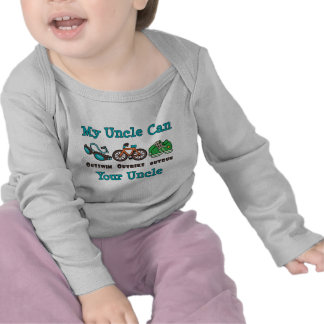 Uncle Triathlon Baby Long Sleeve T-shirt