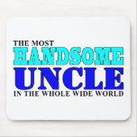 Uncles Birthdays Parties Christmas Handsome Uncle Mousemat