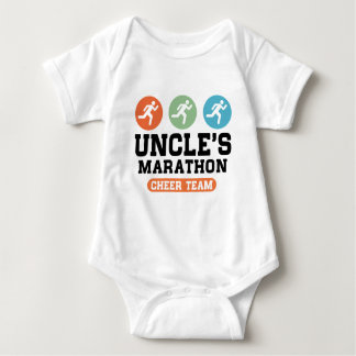 Uncle's Marathon Cheer Team Baby Bodysuit