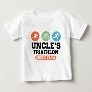 Uncle's Triathlon Cheer Team Baby T-Shirt