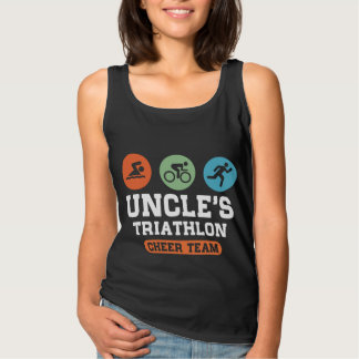 Uncle's Triathlon Cheer Team Singlet