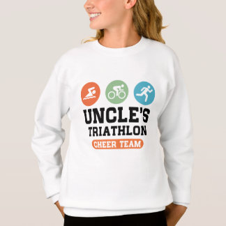 Uncle's Triathlon Cheer Team Sweatshirt