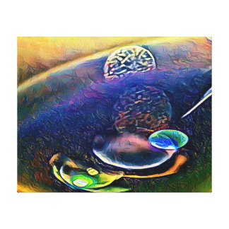 Uncommon Alien Worlds Abstract Photography Canvas Print