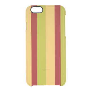 Uncommon Deflector Spice Stripe Clear iPhone 6/6S Case