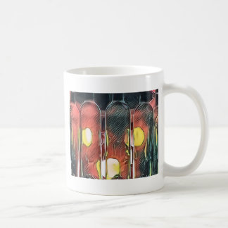 Uncommon Funky Rose Cinnamon Artistic Wine Bottles Coffee Mug